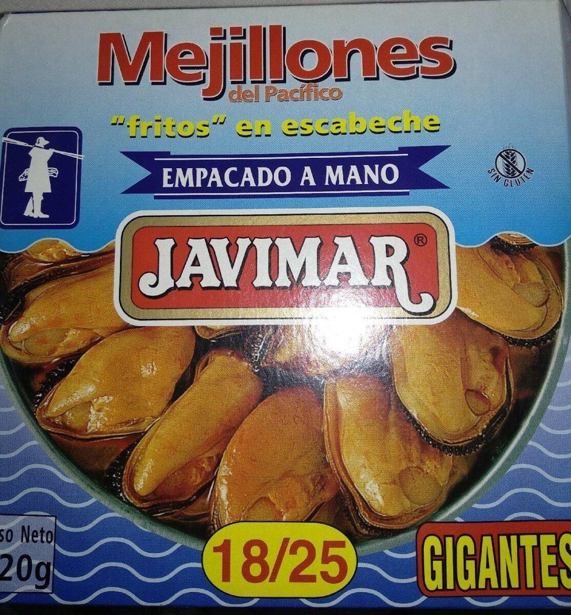 """Mejillones del pacifico """"fritos"""" en escabeche - Producte - es"""
