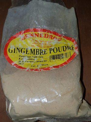 Gingembre Poudre - Produit - fr