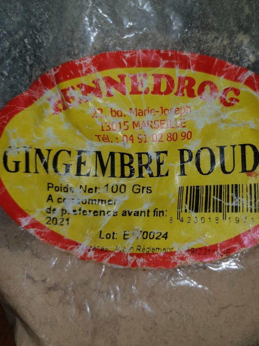 Gingembre Poudre - Ingrédients - fr