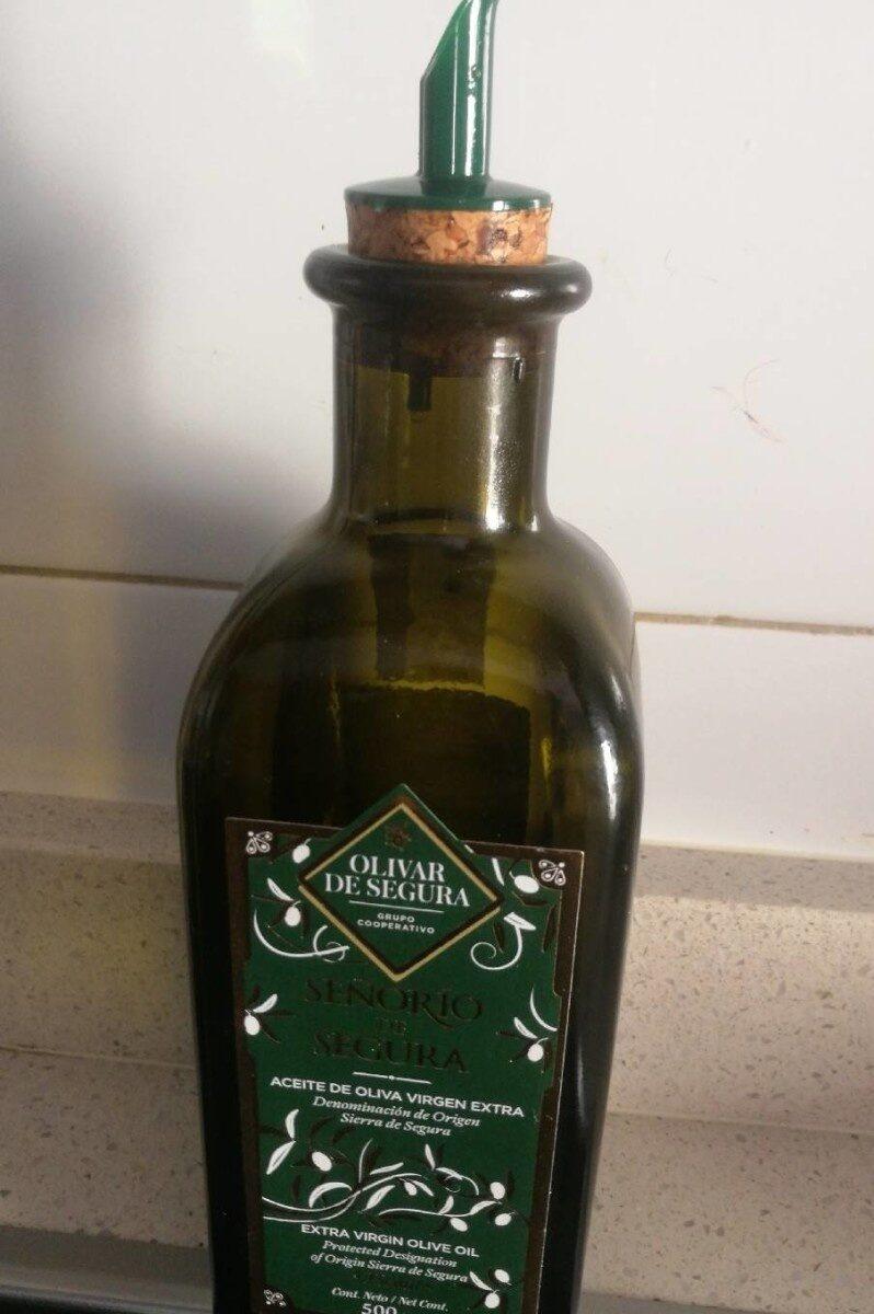 Aceite virgen extra - Produit