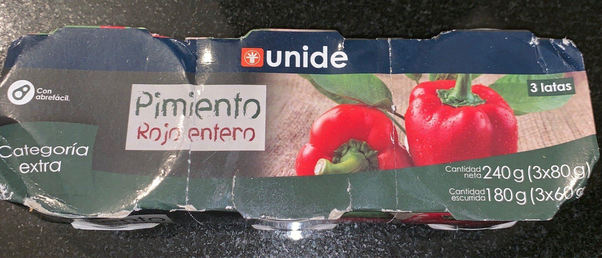 Pimiento rojo entero - Product