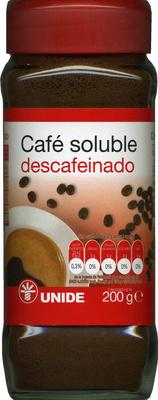 Café soluble descafeinado - Producto - es