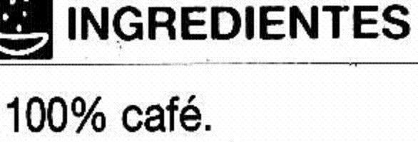 Café soluble descafeinado - Ingredientes - es