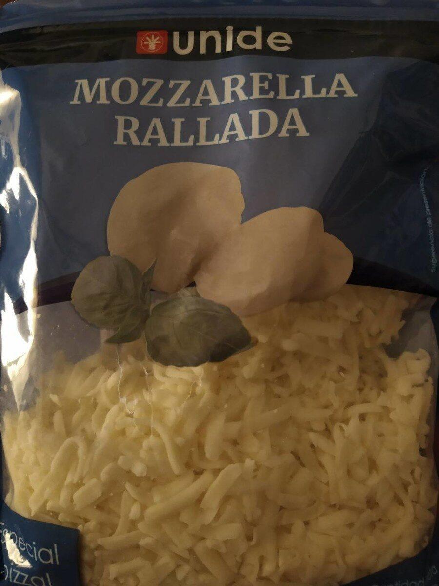 Mozzarella rallada - Producto