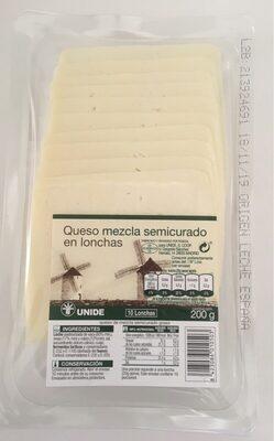 Quedo mezcla semicurado en lonchas - Product