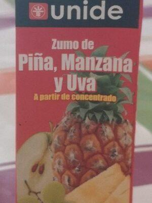 Zumo Manzana Piña y Uva Concentrada
