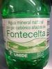 Agua mineral natural de Fontecelta - Producto