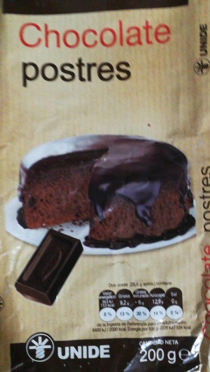 Chocolate postres fundir - Product