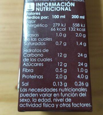 Batido UHT al cacao - Nutrition facts - fr