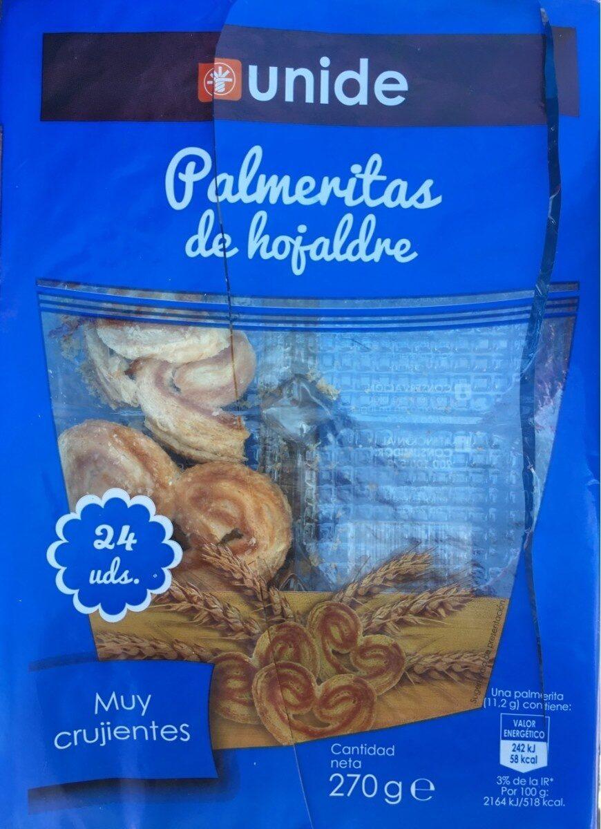 Palmeritas de hojaldre - Product - es