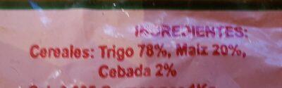 Gofio de mezcla - Ingredients