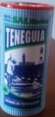 Sal Fina de Teneguía (La Palma, IC, ES) en salero 250G - Producte - fr