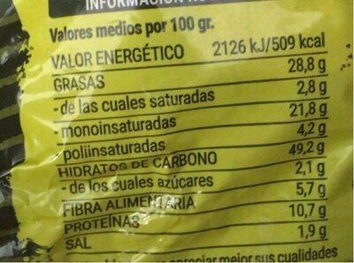 Cereales con espelta - Información nutricional - fr