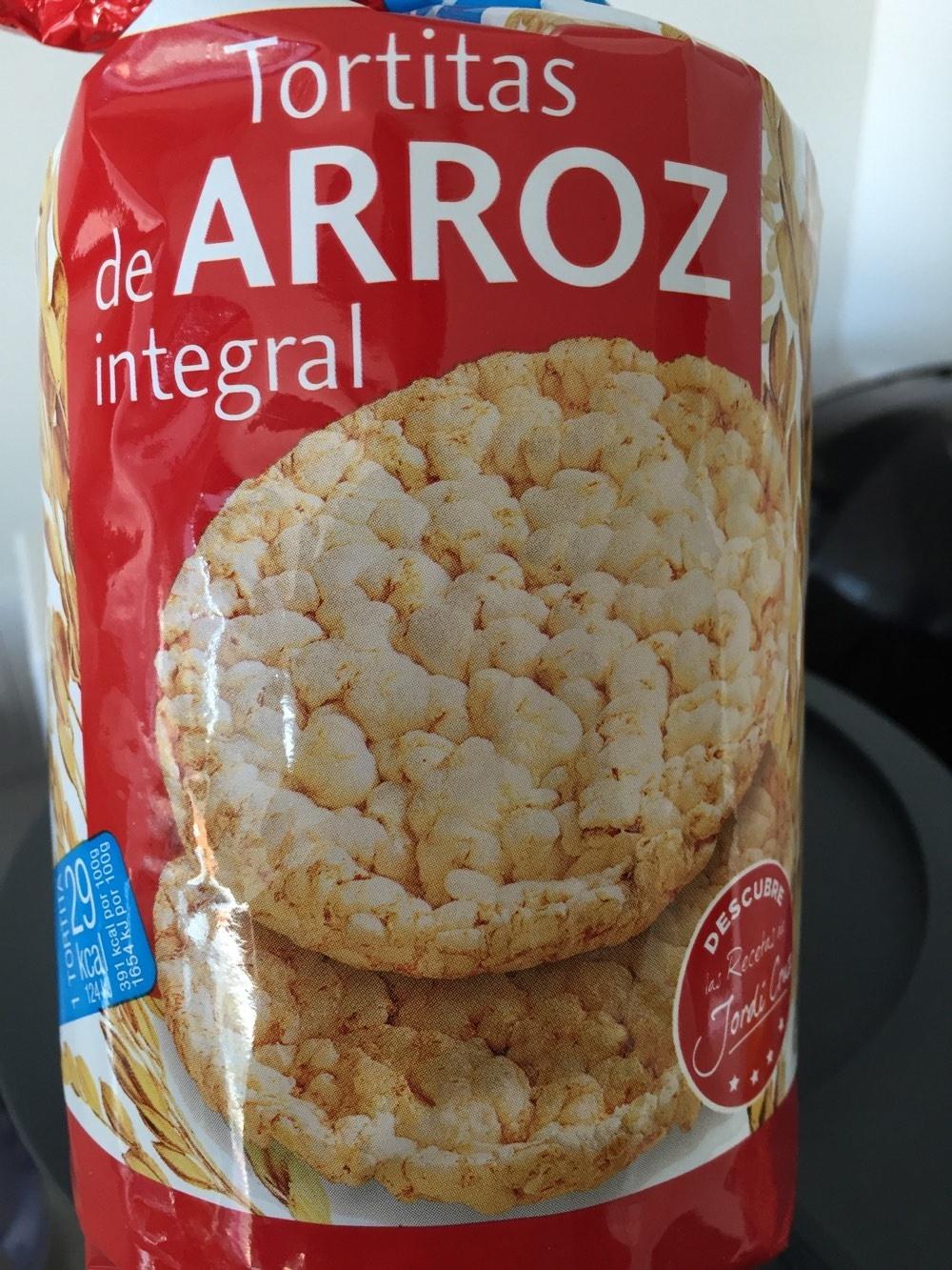 Tortitas de arroz integral - Product - fr