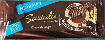 Snack chocolate negro & cereales - Product - es