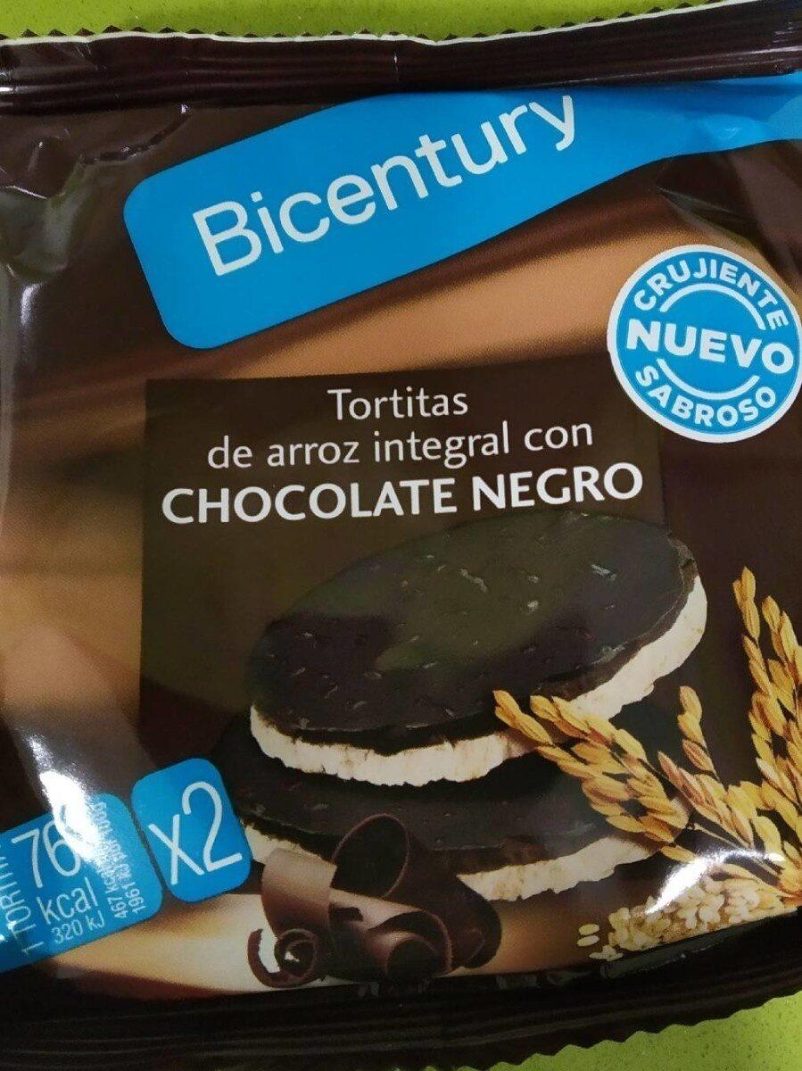 Tortitas arroz integral con Choc negro - Prodotto - es