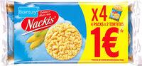 Nackis tortitas de maíz packs - Producte