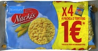 Tortitas de maíz - 4 Packs - Producte