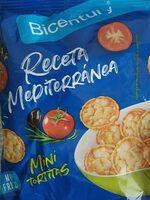 Mini tortitas Receta Mediterránea - Producto - es