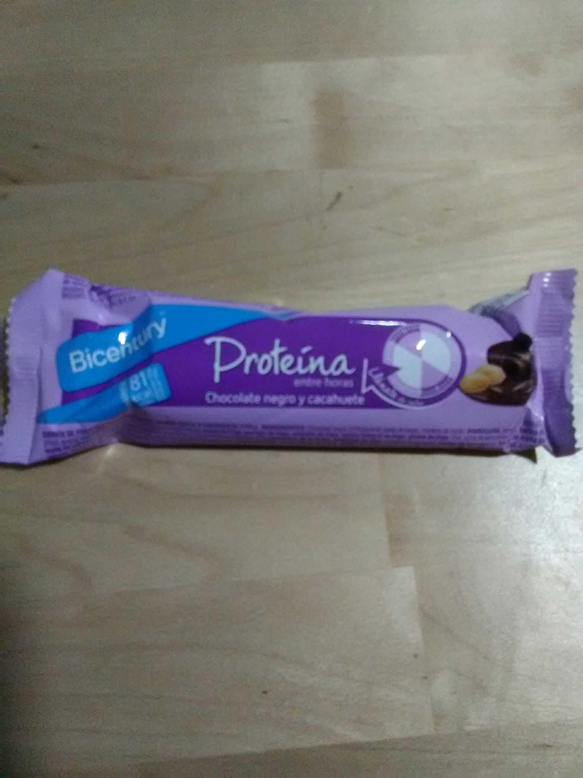 Barrita proteína chocolate negro y cacahuete - Producto - es