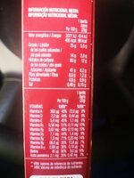 Sarialis chocolate con leche - Nutrition facts - fr