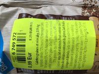Tortitas de maíz con 6 semillas y cereales - Ingredientes