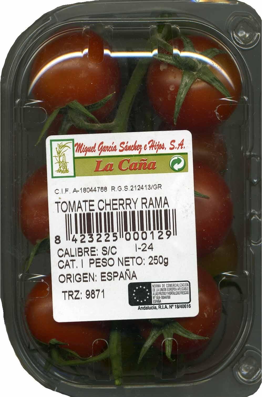 """Tomates cherry en rama """"La Caña"""" - Producto - es"""