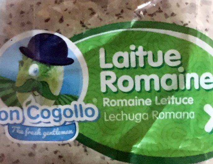 Laitue romaine - Ingredients - fr