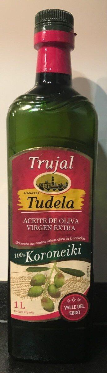 Aceite de oliva virgen extra almazara Tudela - Produit - es