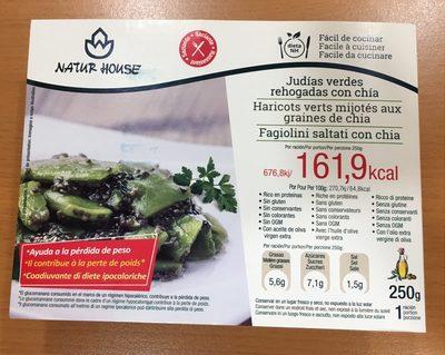 Haricots verts mijotés aux graines de chia - Produit - fr