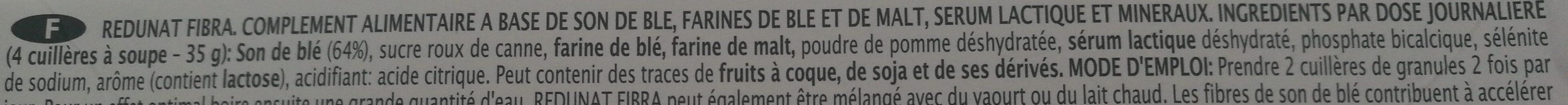 Lenavat plus - Ingredients - fr