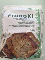 Fibroki biscottes soja - Produit - fr