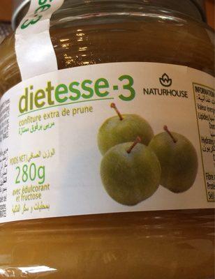 calorie Confiture de prune