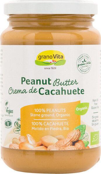Crema de cacahuetes ecológica sin gluten y sin - Product - es