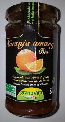 Mermelada naranja amarga bio