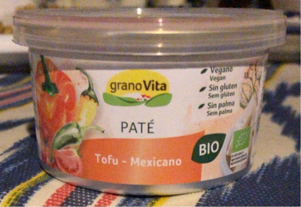 Paté Tofu-Mejicano - Produit - es