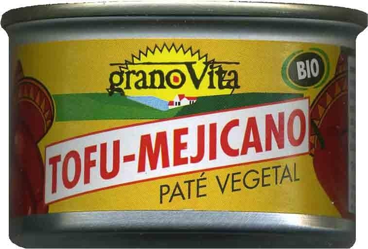 Paté vegetal Tofu-Mejicano - Producto - es