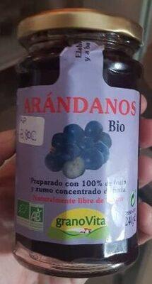 Mermelada De Arandanos Bio