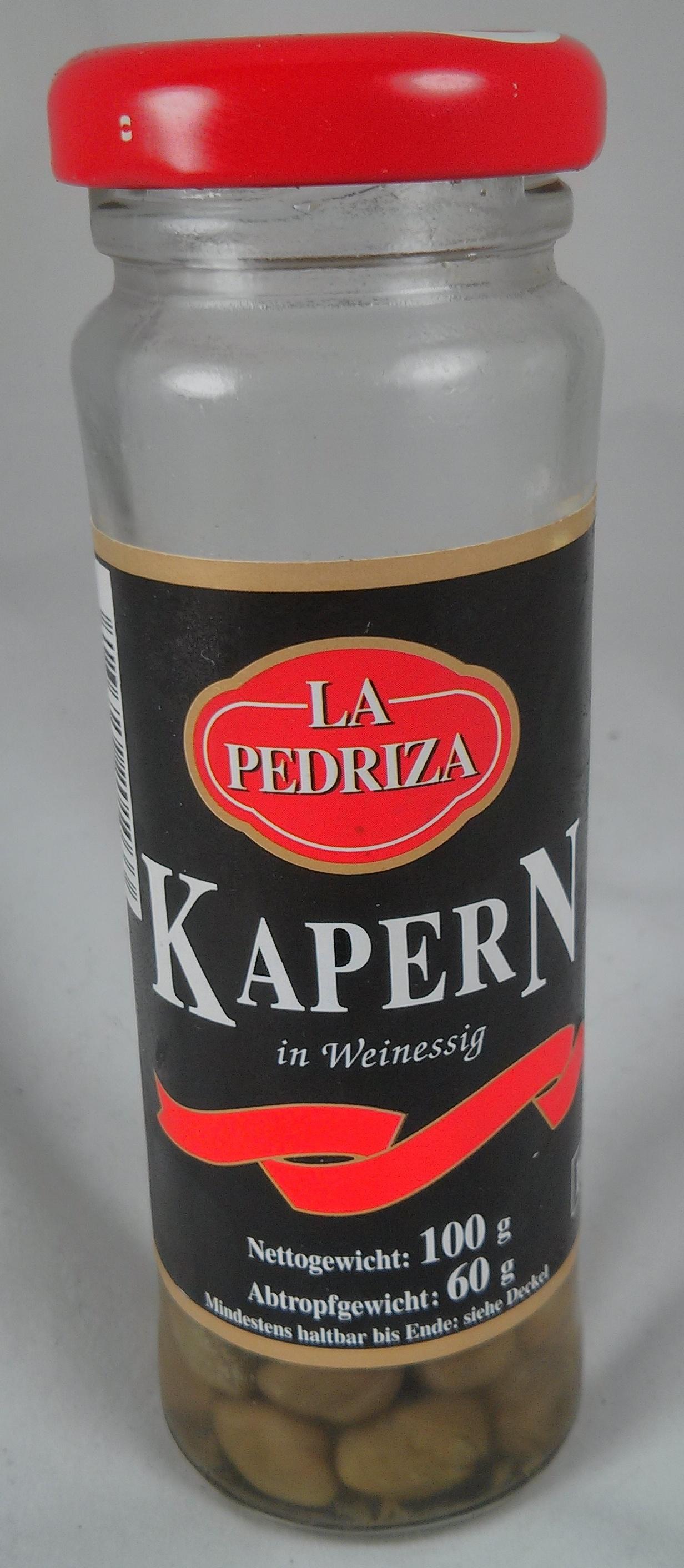 Kapern in Weinessig - Product - de
