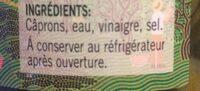Câprons au vinaigre - Ingredients - fr