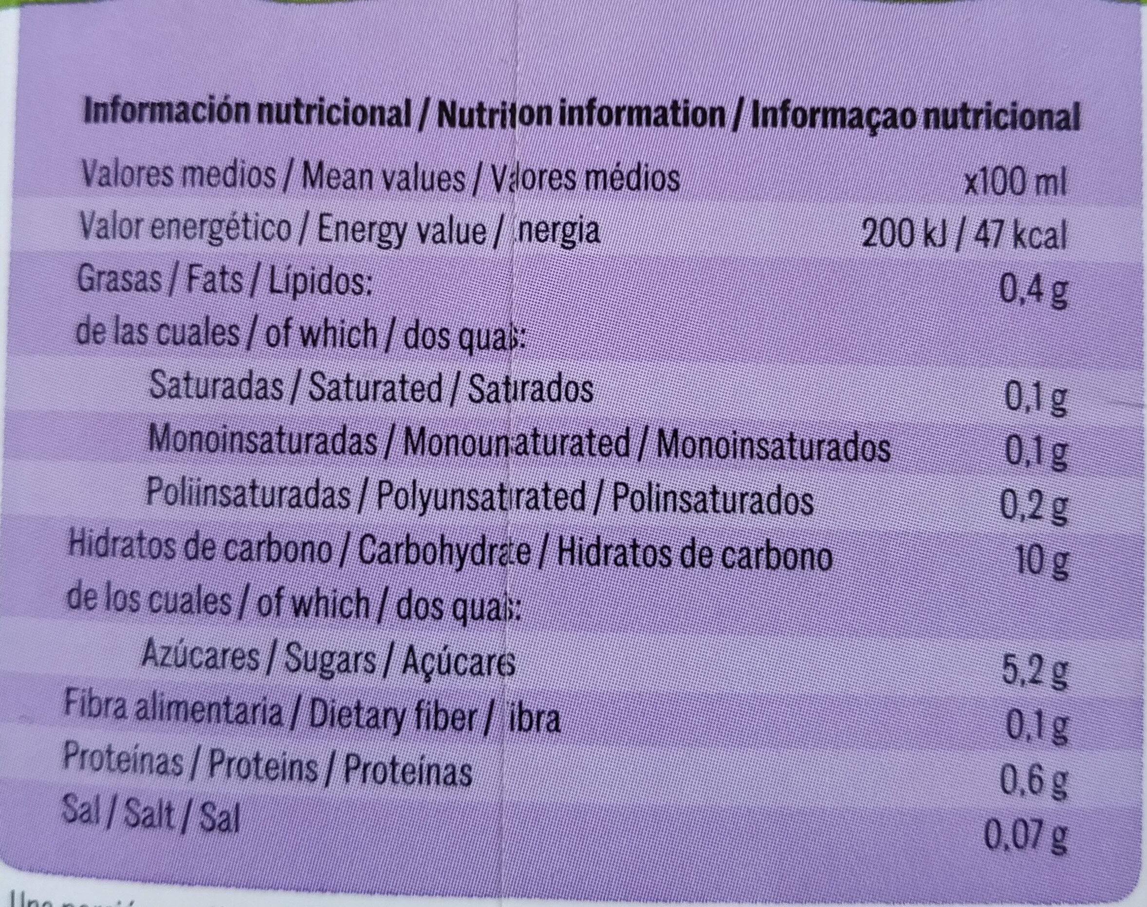 Quinoa+riz - Información nutricional