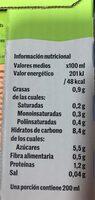 Bebida de avena - Nutrition facts - es