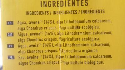 Bebida de avena +calcium - Ingredients - ca
