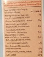 Boisson à l'Avoine - Nutrition facts