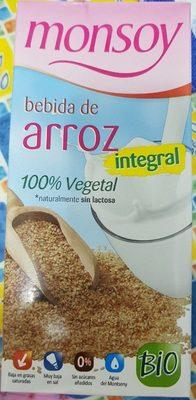 Bebida de arroz intégral - Producto