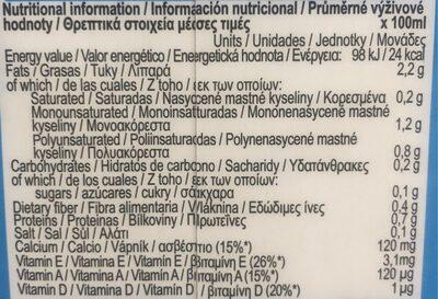 Natrue almond - Información nutricional - es