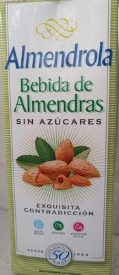 Bebida de almendras almendrola sin azúcar - Product - fr
