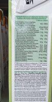 Bebida de almendras almendrola sin azúcar - Voedingswaarden - fr