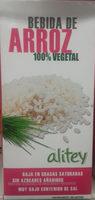 Bebida de arroz - Product - es
