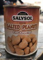 Salted peanuts - Producte - fr